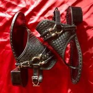 ⛓IVY KIRZHNER Harness Sandals